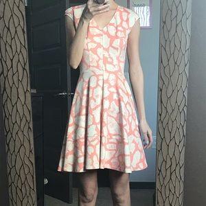Cap sleeved dress